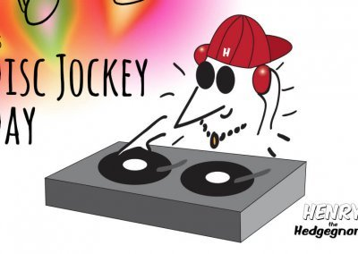 Children's books | Henry the Hedgegnome | Disc jockey day