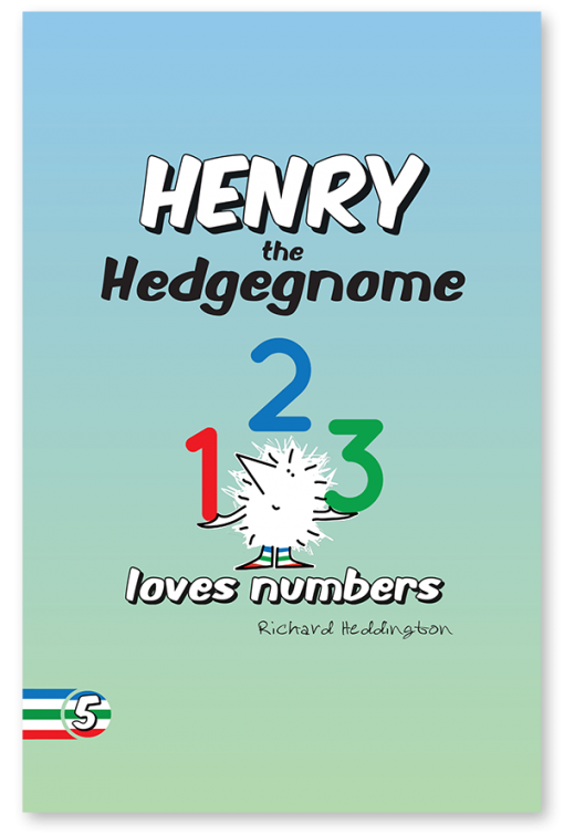 Children's books | Henry the Hedgegnome loves numbers | Early learning book
