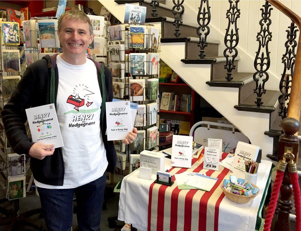 Devizes Books author book signing