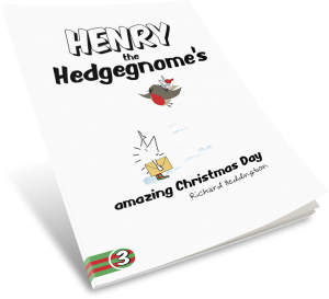 Henry the Hedgegnome's amazing Christmas Day - paperback
