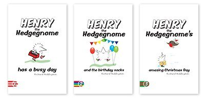 Henry the Hedgegnome books