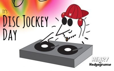 It's Disc Jockey Day