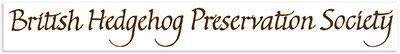 Hedgehog Preservation Society - logo-text