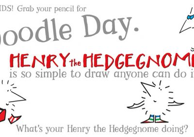 Children's books | Henry the Hedgegnome | Doodle Day