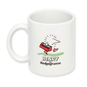 Henry the Hedgegnome mug