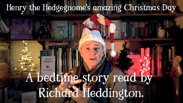 Henry the Hedgegnome children's books. A Christmas bedtime story read by the author. - video