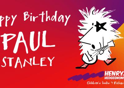 Happy birthday Paul Stanley
